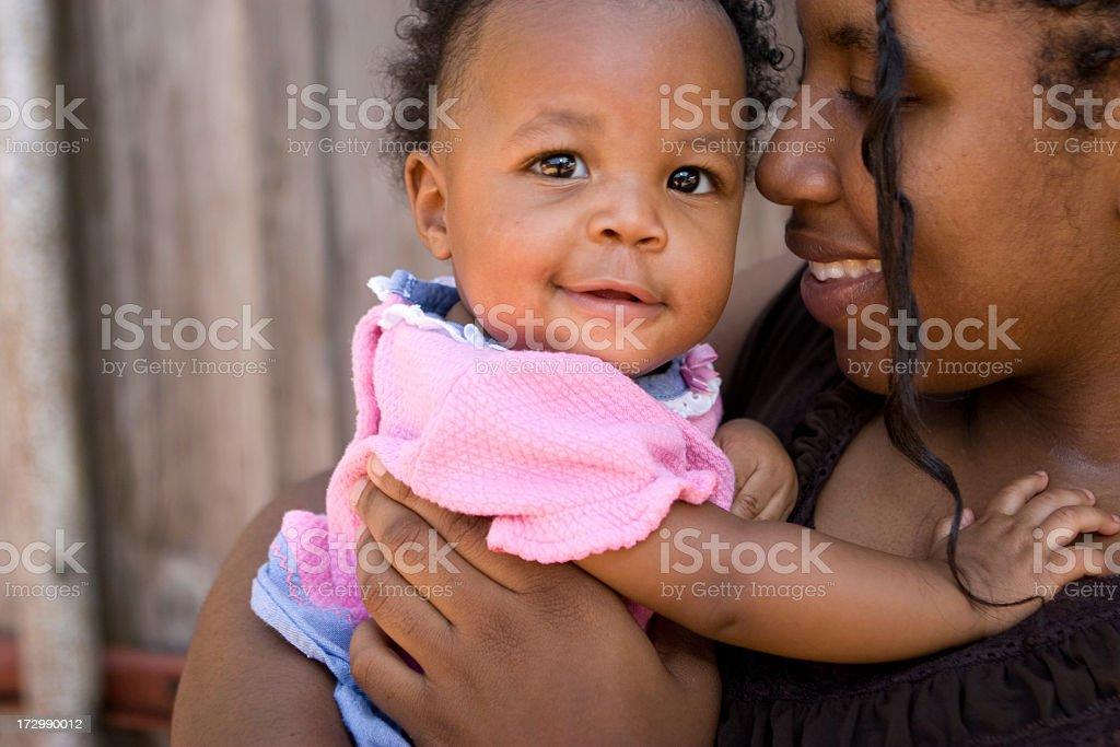 Teenage Mom royalty-free stock photo