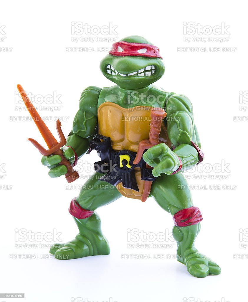 Teenage Mutant Ninja Turtles - Figurine stock photo