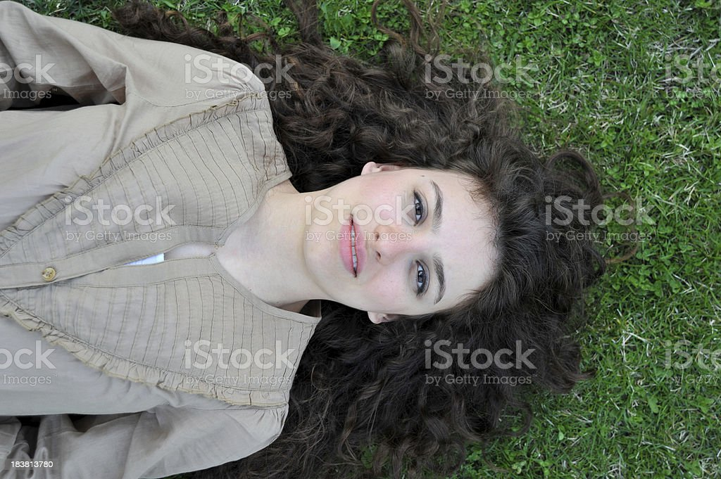 Teenage Portrait royalty-free stock photo