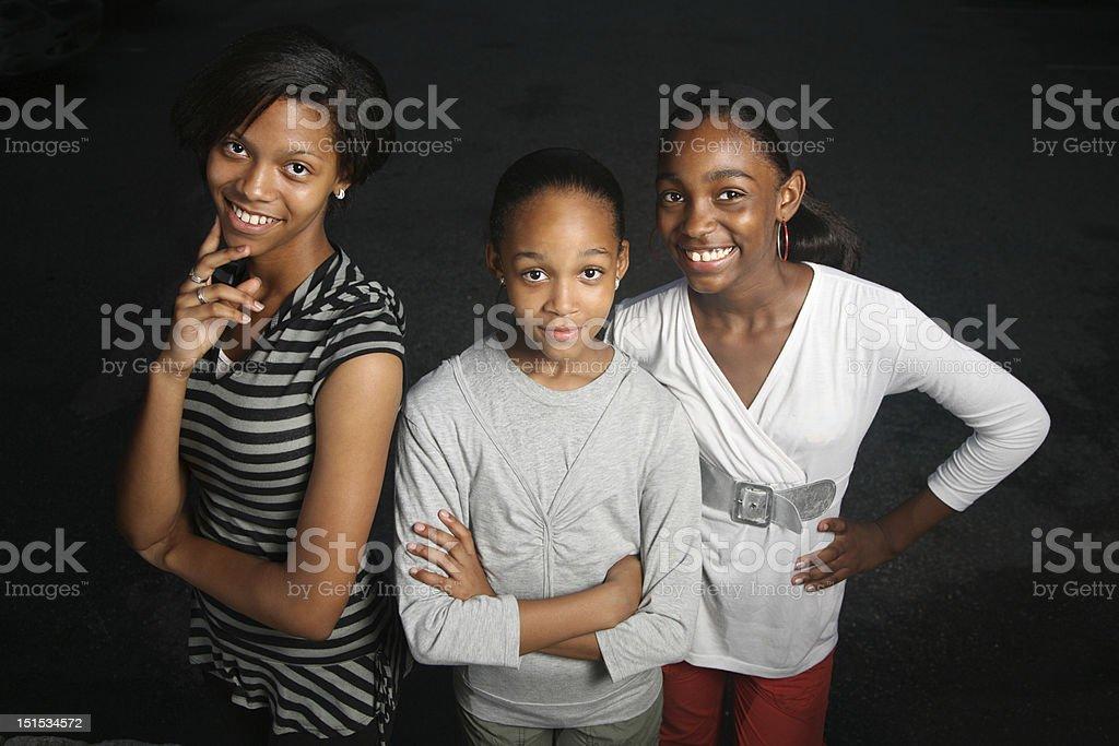 Teenager sisters – Foto
