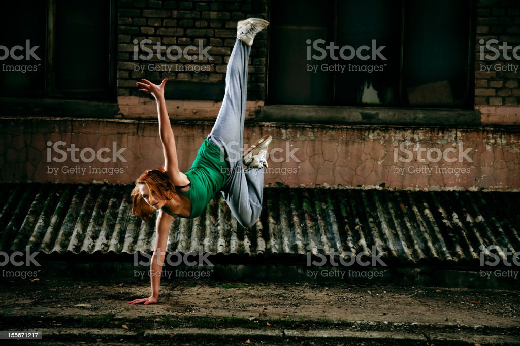 Teenager street dancer – Foto