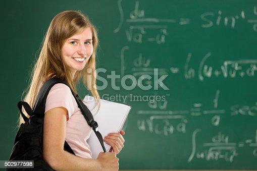 istock Teenage Student 502977598