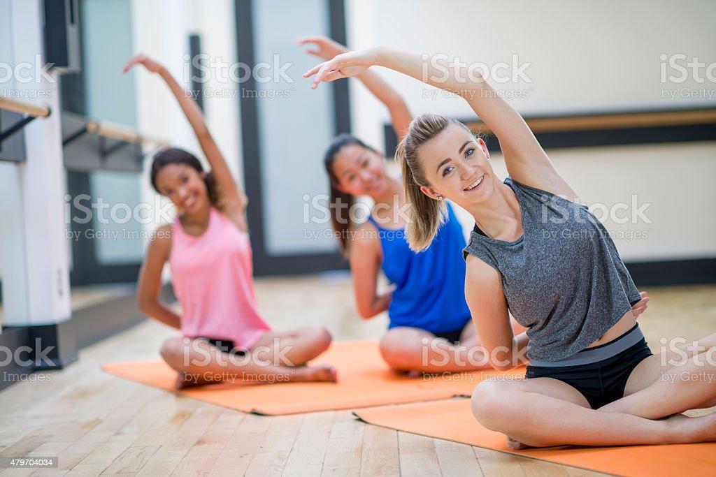 Teenage Yoga Class Stock Photo Download Image Now Istock