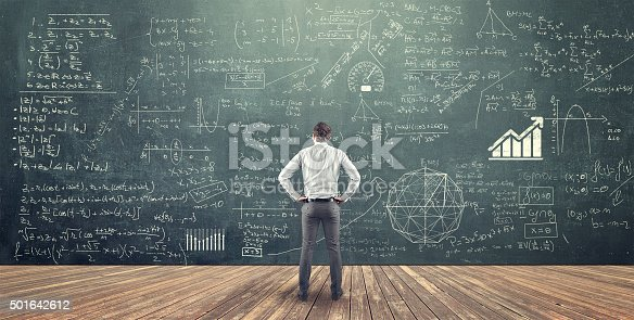 istock Teenager and blackboard 501642612