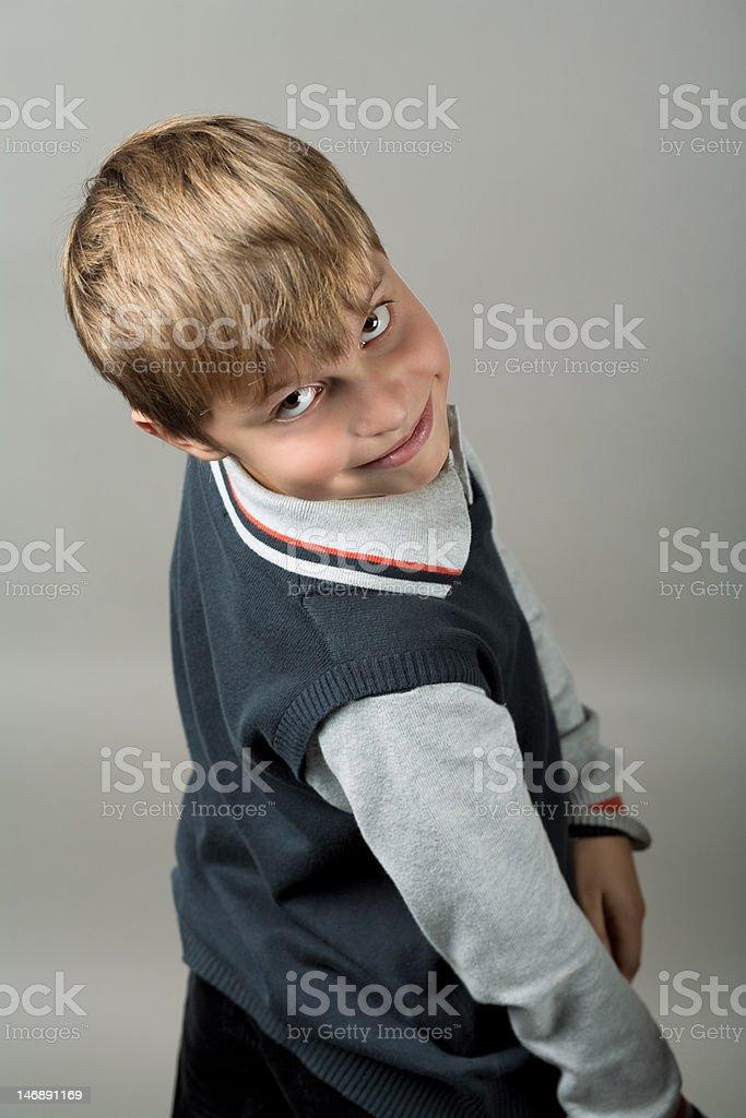 teenager boy closeup royalty-free stock photo