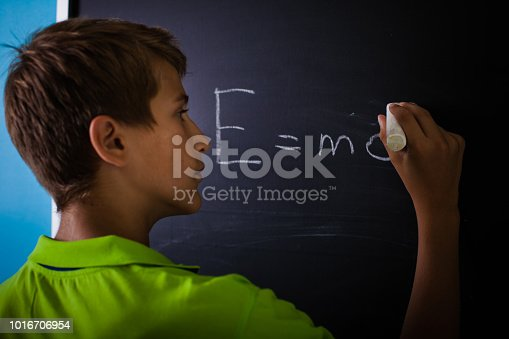 531869550 istock photo Teenager Boy in Classroom 1016706954