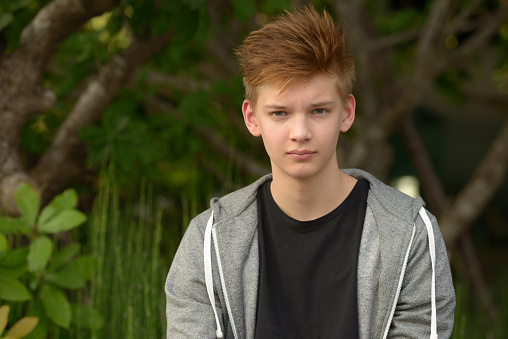 teenager boy outdoors stock photo download image now istock