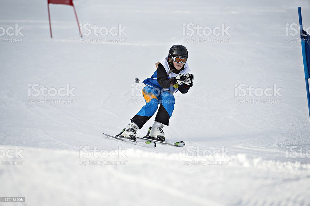 teenager competitor royalty-free stock photo