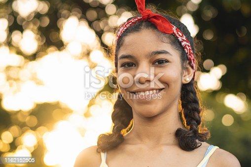 Teenager Girls, Braided Hair, Headband, Positive Emotion, Summer