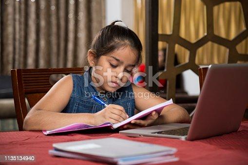 647171454 istock photo Teenager Girl - Stock Images 1135134940