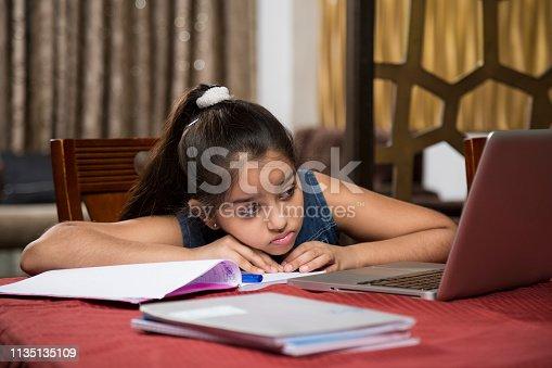 647171454 istock photo Teenager Girl - Stock Images 1135135109