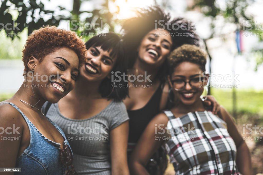 Teenager Girls Smiling stock photo