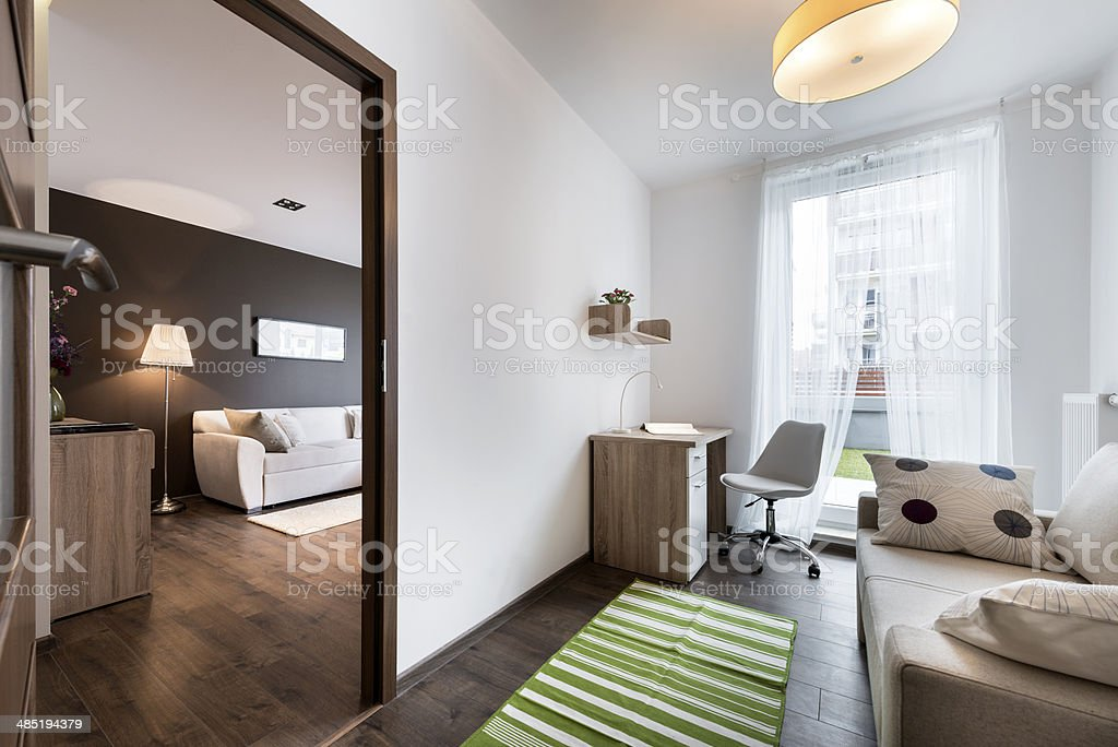Teenager Modern Room Iterior Design Royalty Free Stock Photo