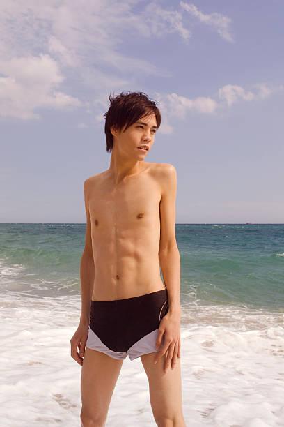 Badehosen jungs in engen Gay Swimwear