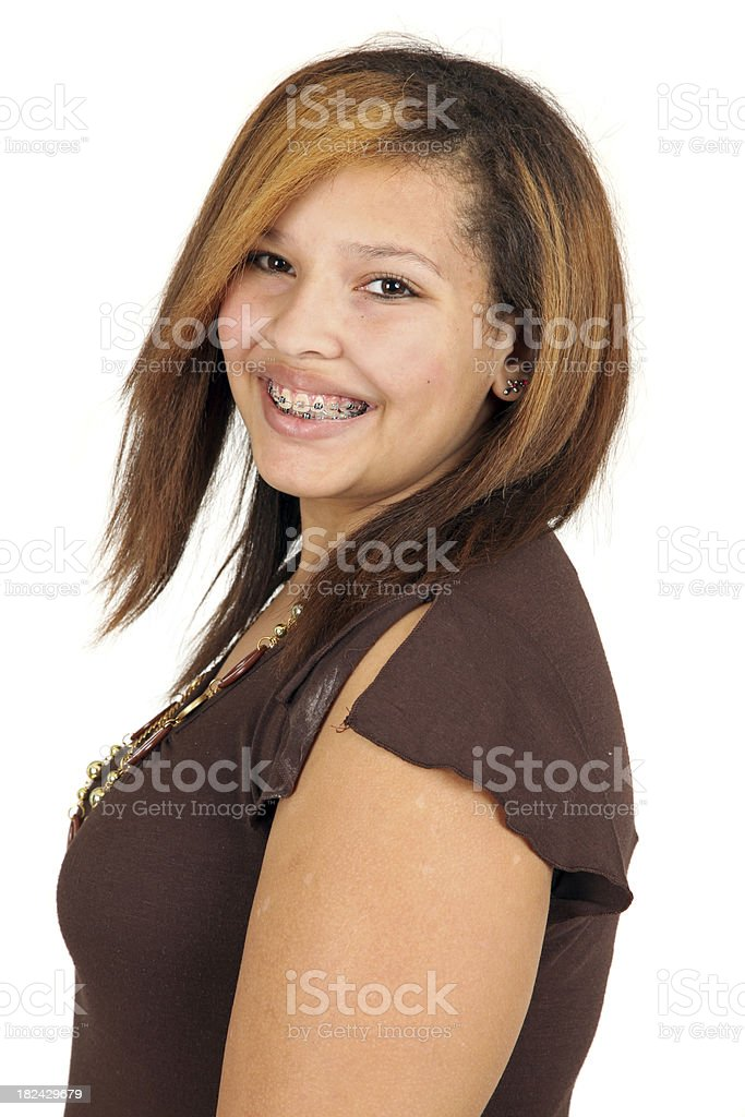 Teenager royalty-free stock photo