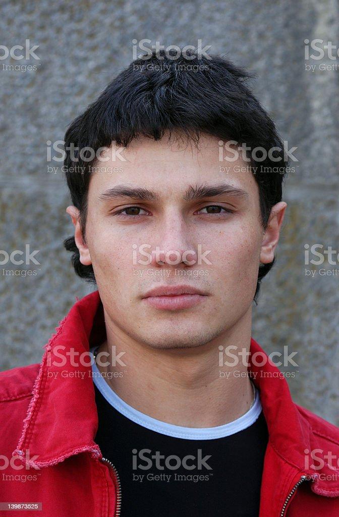 Teenager Portrait royalty-free stock photo