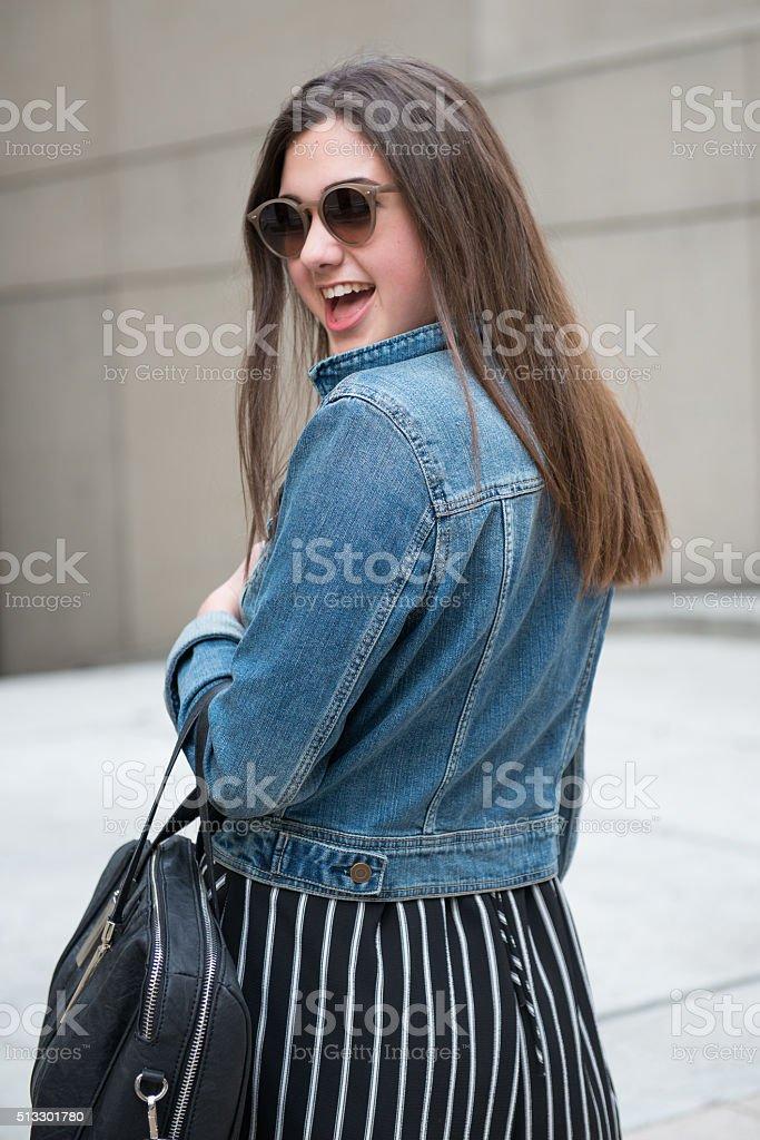 Teenager Shopping stock photo