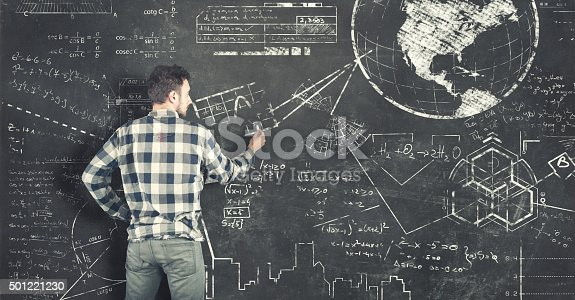 istock Teenager tries to solve problems 501221230