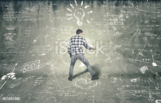 istock Teenager tries to solve problems 501642490