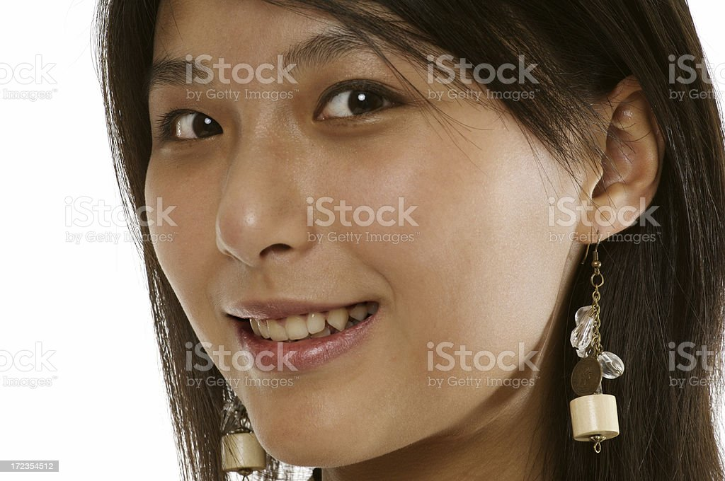 Teenager - up close royalty-free stock photo