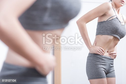 istock Teenager with eating disorder 513107104