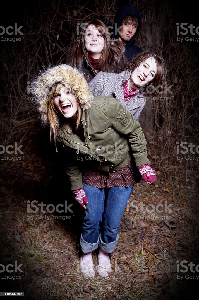 teenager young person group portraits royalty-free stock photo