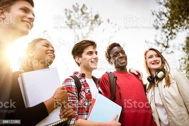 Teenagers college student smiling embracing picture id599122050?b=1&k=6&m=599122050&s=612x612&h=57z 1 wo88u6njb6qqclizmbobdsz ctrxbyb2ccrj4=