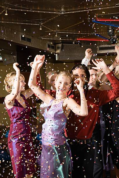 Teenagers dancing  prom night stock pictures, royalty-free photos & images