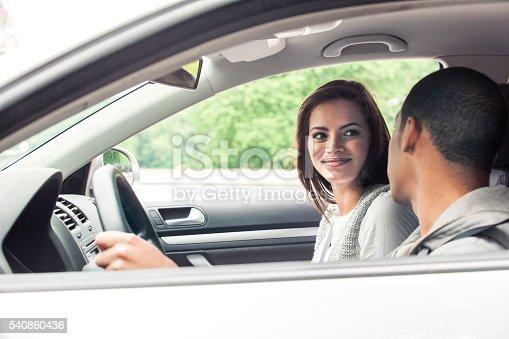607592606 istock photo Teenagers driving car 540860436