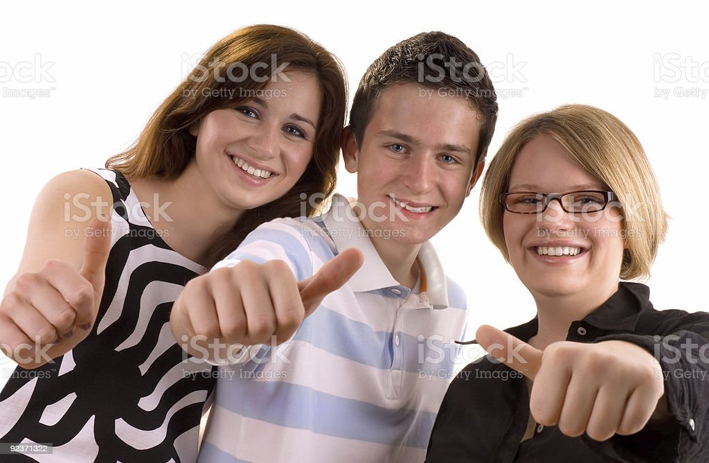 teenagers royalty-free stock photo