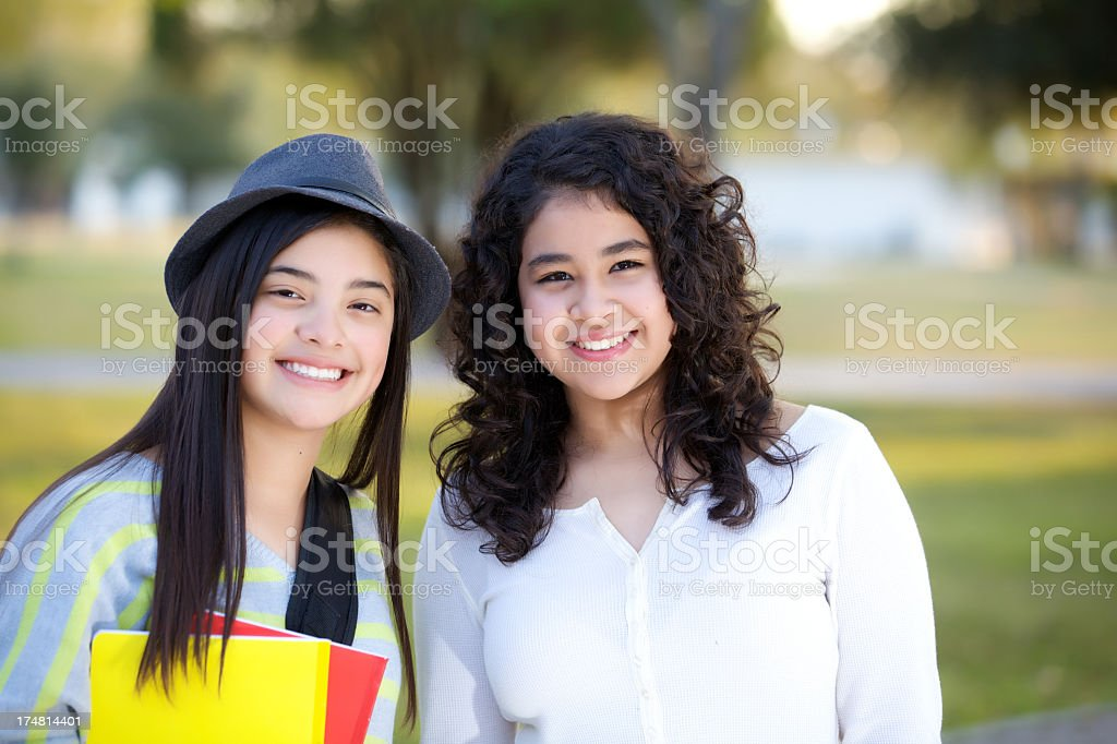 teenagers portrait royalty-free stock photo
