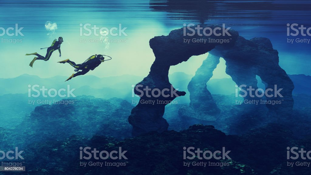 Teenagers  swimming stock photo