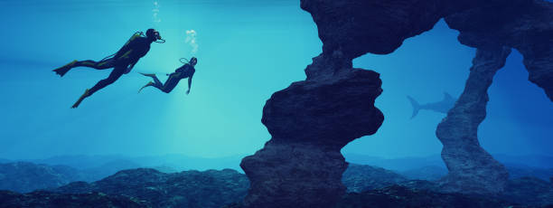 Adolescents de natation - Photo