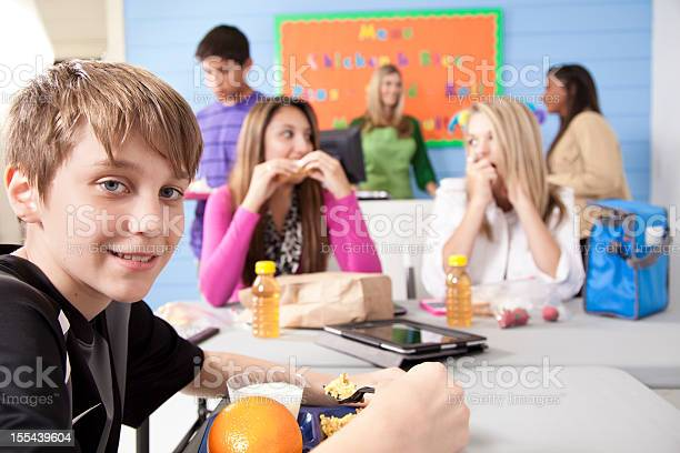 Teens in school cafeteria sharing lunch friendships and conversation picture id155439604?b=1&k=6&m=155439604&s=612x612&h=m9rjitvzs41h deqczqclmbt4kjtghiga xeeazc3so=