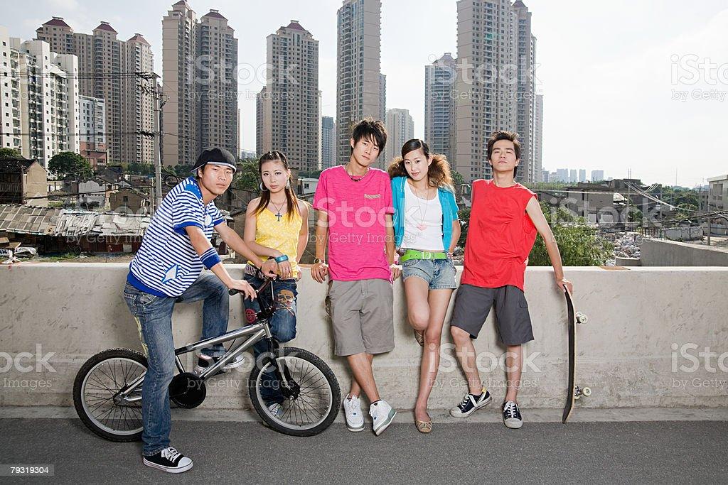 Teens with attitude 免版稅 stock photo