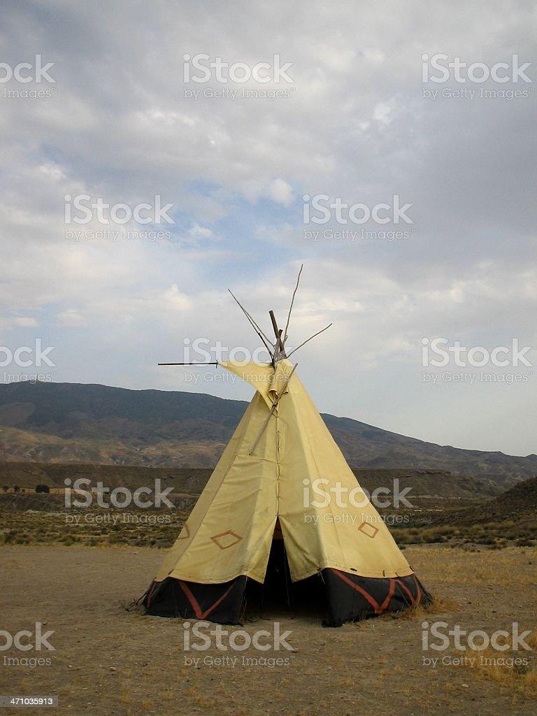 Teepee Fort Bravo..:: Far west 'Series'::.. stock photo