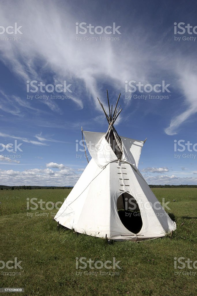 Teepee (Series-one) royalty-free stock photo