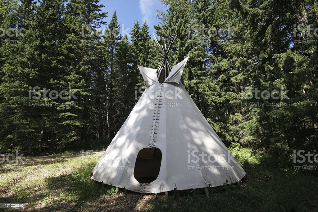 Teepee (Series-two) stock photo