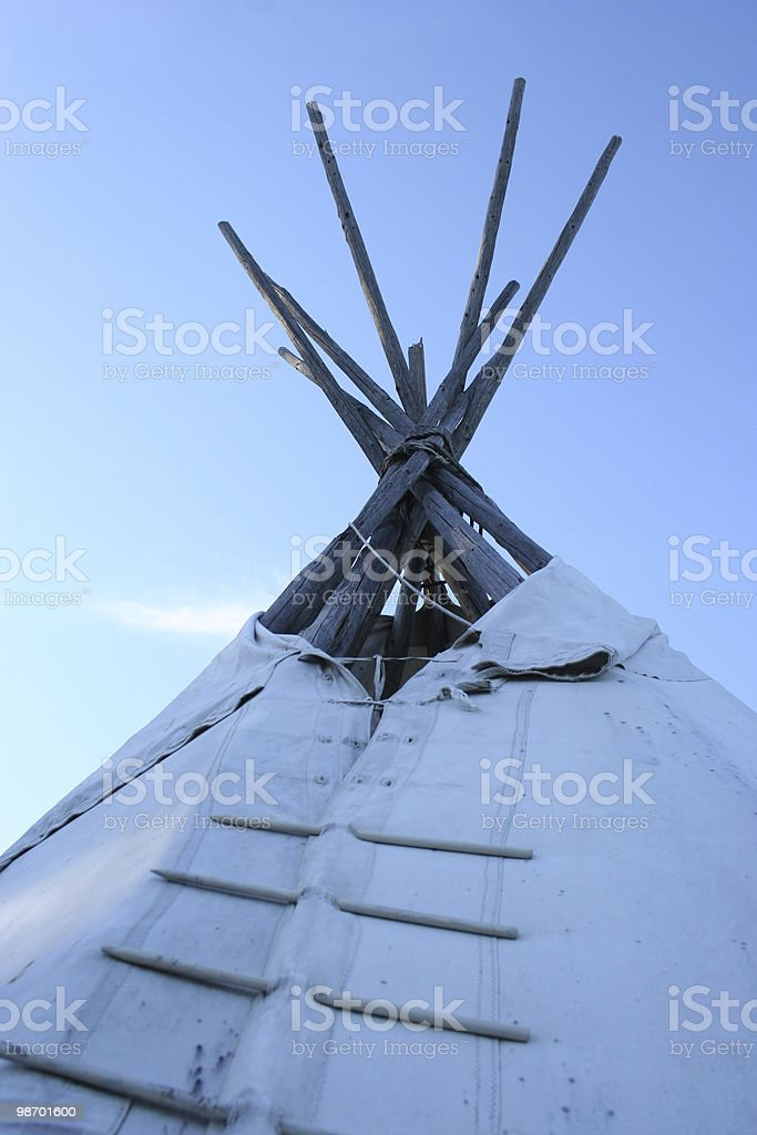 Teepee foto stock royalty-free