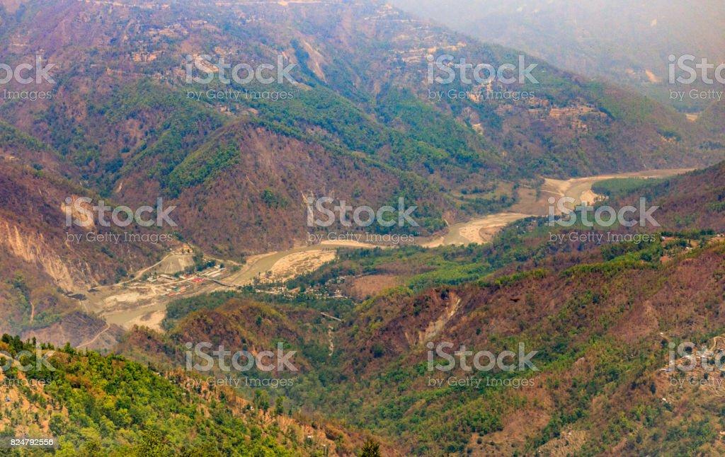 Teesta Valley stock photo