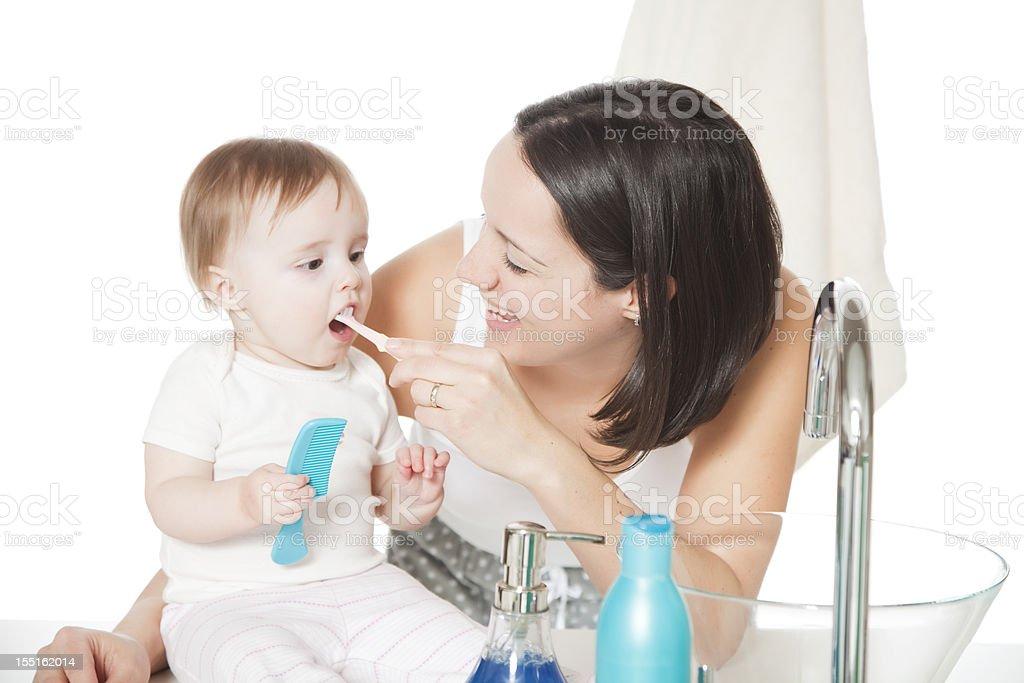 Bürsten Zähne – Foto
