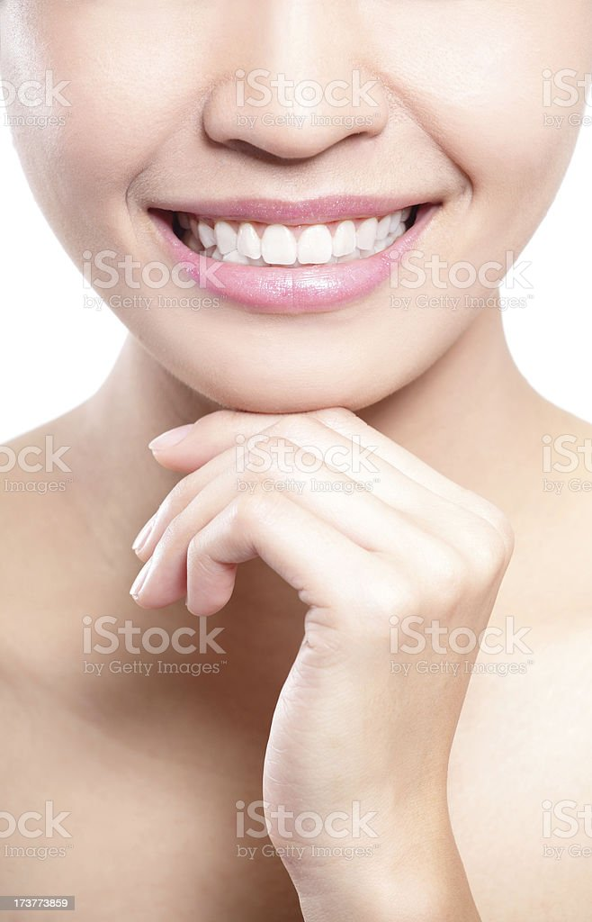Teeth problem royalty-free stock photo