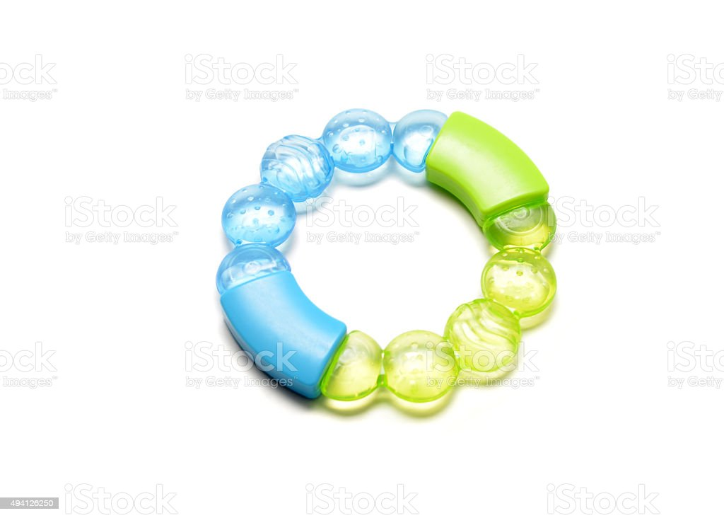 Teething Ring stock photo