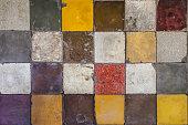 Tegel tiles textured