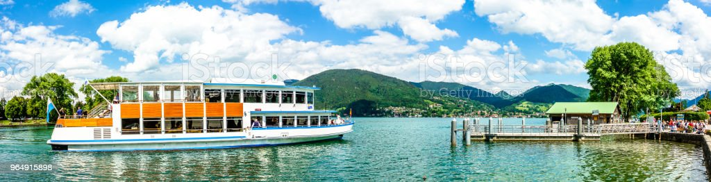 tegernsee lake - bavaria - germany royalty-free stock photo