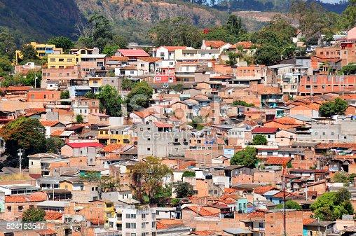 Tegucigalpa, Honduras: slums on the hills surrounding the capital - Francisco Morazán department, Distrito Central - photo by M.Torres