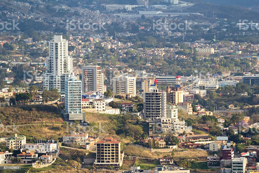Tegucigalpa Honduras stock photo