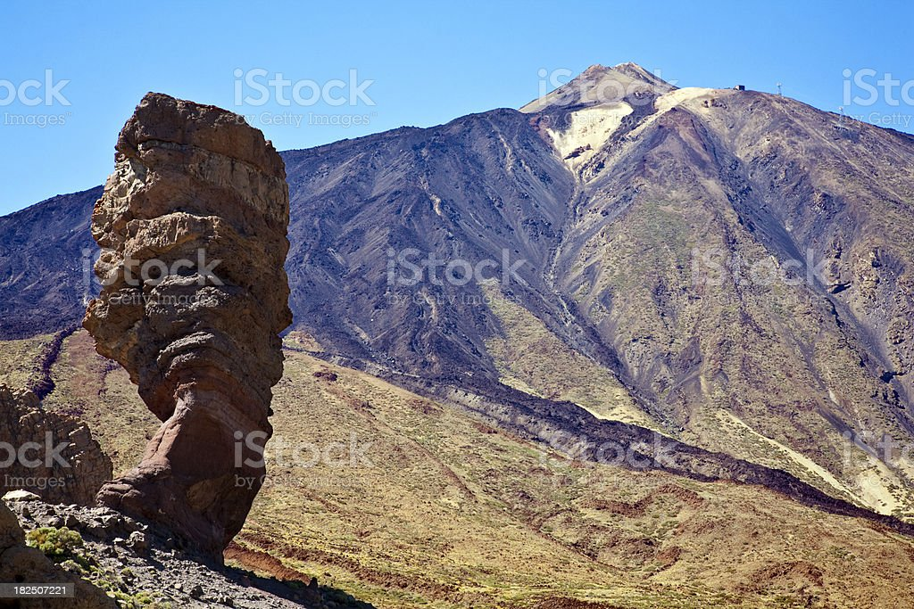 Teide landscape stock photo