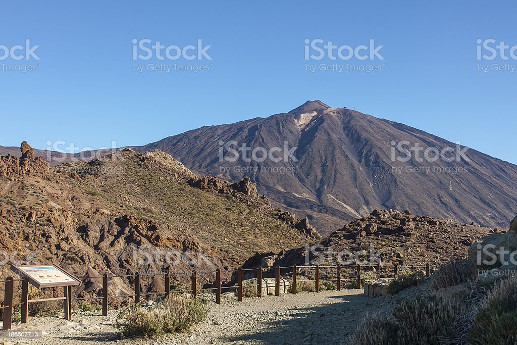 Teide National Park royalty-free stock photo