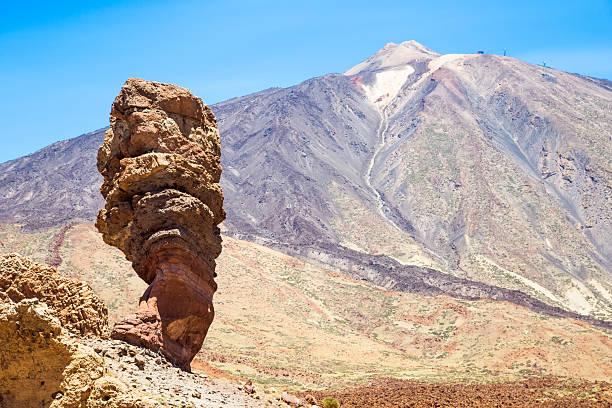 Parque nacional de Teide Roques de García en Tenerife - foto de stock